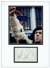 Robert Lindsay Autograph Signed Display - Citizen Smith